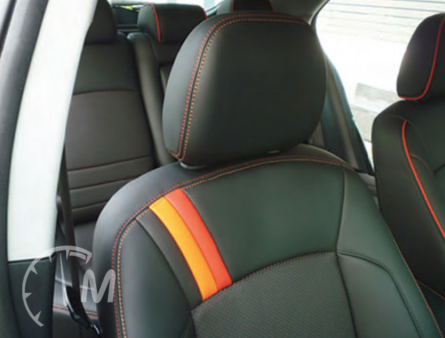 Custom Leather Seats by Pecca